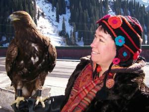 Pascale Petit and eagle