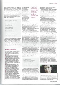 Mslexia feature Poetry as Exorcism 2015 - page 2